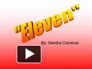 Eleven By Sandra Cisneros - Essay by Hamster162